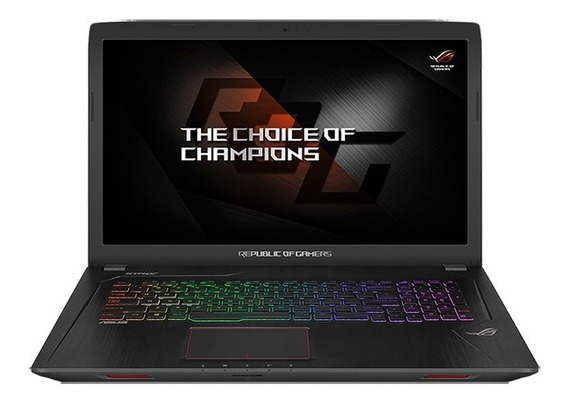 Notebook Gamer Asus Rog Strix 17.3 16gb / I7/ Gtx1050 4gb