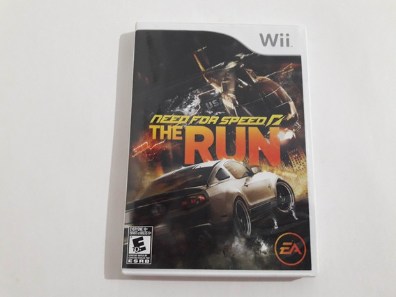 Wii Need For Speed The Run Funcionando 100% #1048