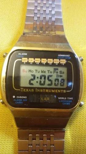 Reloj De Pulsera Vintage Texas Instruments Solar