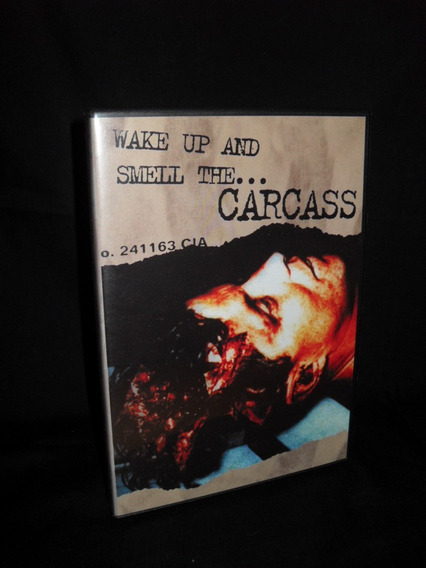 Dvd Carcass Wake Up And Smell The... Carcass