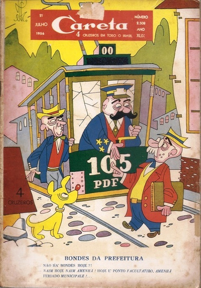 Careta De 21 De Julho De 1956 - Número 2508 - Ano Xlix