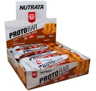 Caixa Protobar 8 Unidades Nutrata A Melhor Barra De Proteína