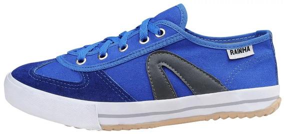Tenis Rainha Voley Azul Royal/preto