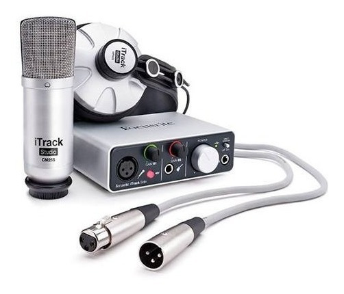 Interface Audio Itrackstud Focusrite Garantia 2 Anos Oferta