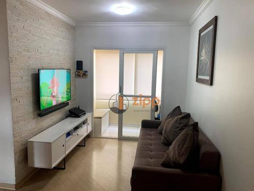 Imagem 1 de 13 de Apartamento Com 2 Dormitórios E 1 Banheiro À Venda, 50 M² Por R$ 282.000 - Imirim - São Paulo/sp - Ap0030