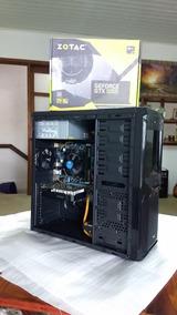 Computador Pc Cpu Gamer Gtx 1050 Core I5 8gb Ram Hd 500gb