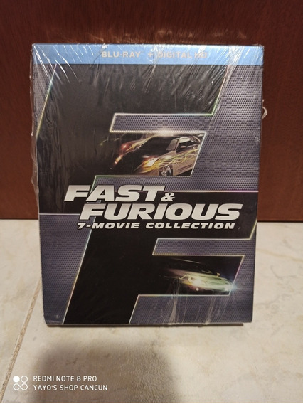 Fast & Furious 7 Movie Collection Blu-ray