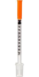 Seringa De Insulina 0,5ml Com Agulha Fixa 31g 0,25mm X 6mm