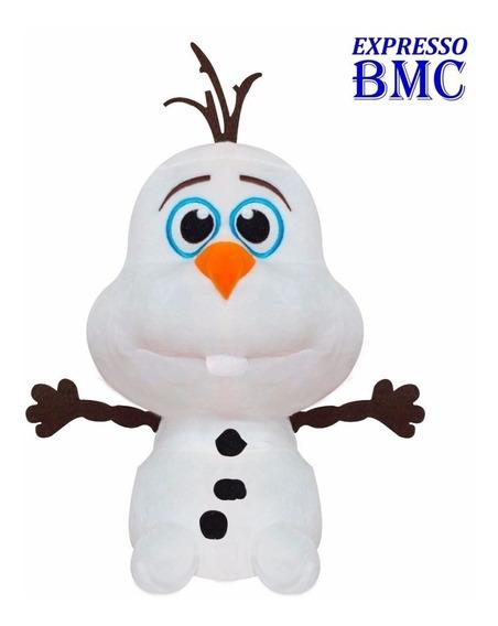 Pelucia Olaf Big Head Original Frozen Disney Long Jump
