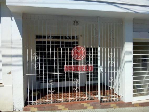 Casa Com 2 Dormitórios Para Alugar, 115 M² Por R$ 1.200/mês - Centro - Piracicaba/sp - Ca2787