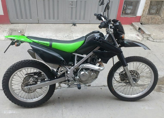 Kawasaki Klx 150 Negro-verde