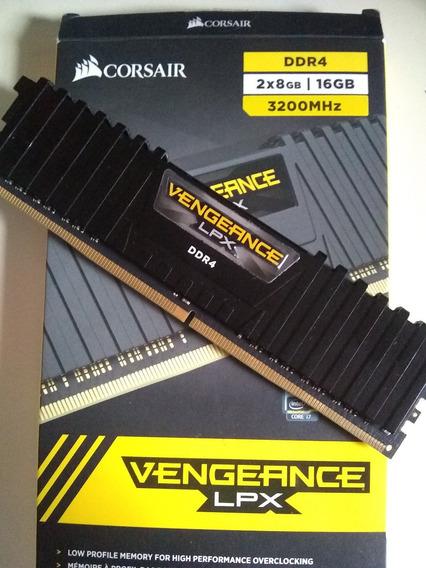 Memoria Corsair Lpx Black 1 X 8gb 3200 Mhz
