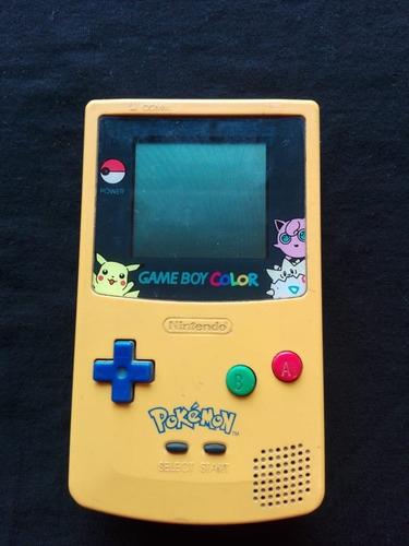Game Boy Color Edicion Pokemon (edicion Limitada).