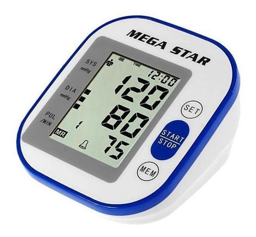 Medidor de pressão arterial digital de braçoMegastar HT566