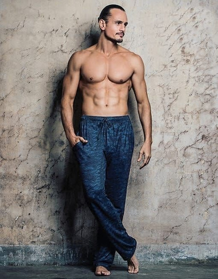 Pantalon Pijama Hombre De Mircofibra Estampada Lody Wariel
