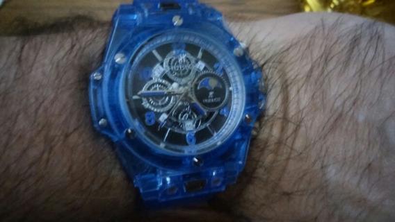 Relógio Hb Masculino Brinde Grátis!!!