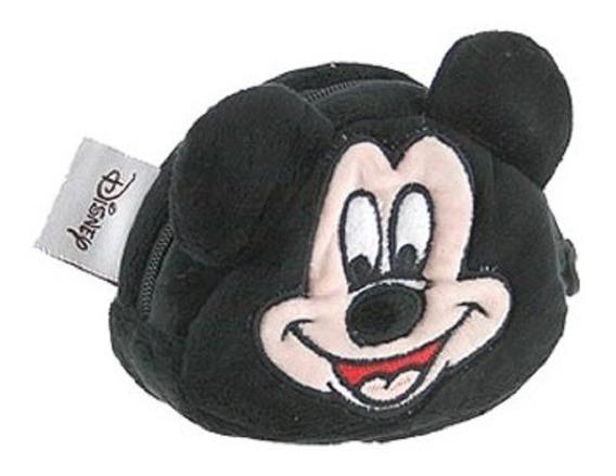 Chaveiro Porta Moedas Niquel Pelucia Mickey