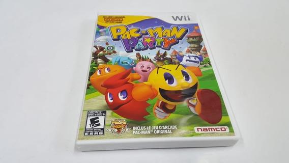 Pacman Party - Nintendo Wii - Original - Mídia Física