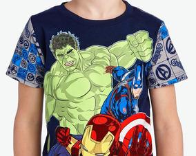 Pijama Avengers Azul Pr-2543332