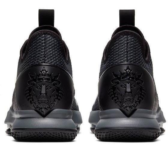 Nike Lebron Witness Lv Black / Black - Iron Grey Bv7427 003