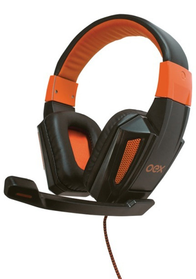 Headset Combat Hs205 Oex Gamer Pc Novo + Adaptador Ps4