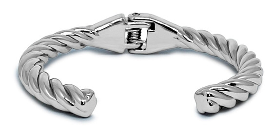 Pulseira Silver Twisted