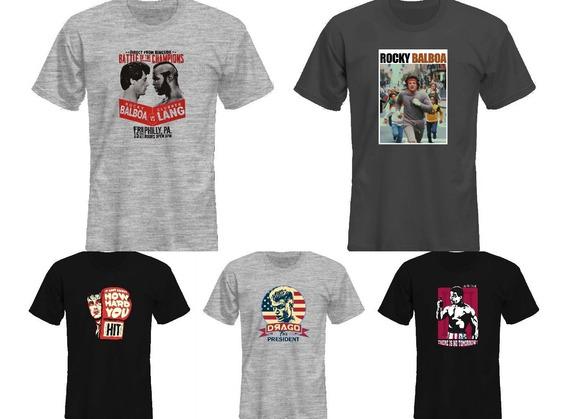 Remeras Rocky Balboa Stallone Boxeo 2018 A *mr Korneforos*