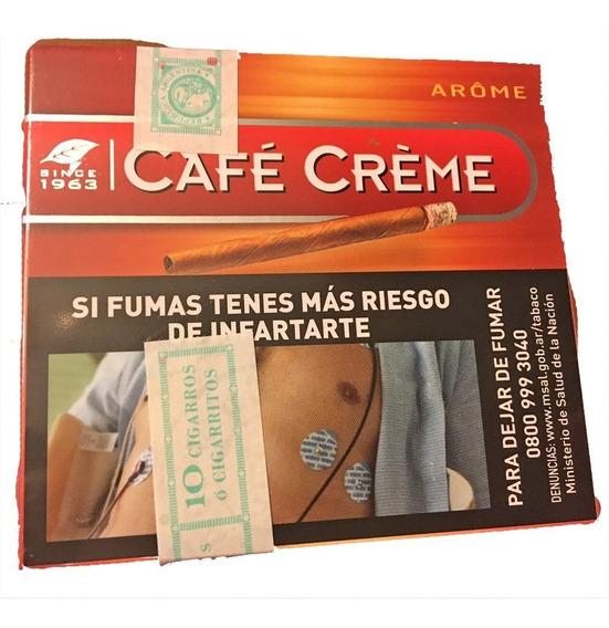 Arome Puritos Pack X50 Cigarros Cigarro Cafe Creme Aroma