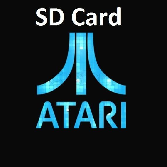 Cartão Sd Atari Flashback Portátil +1000 Brindes Emulator!!