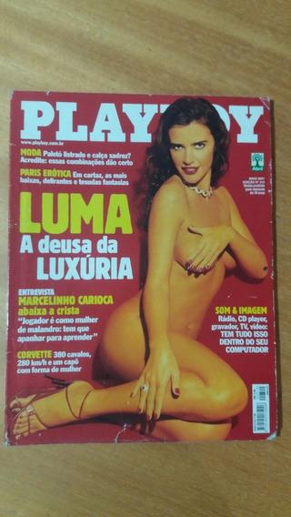 Revista Playboy - Ed. 310 05/2001 - Luma De Oliveira