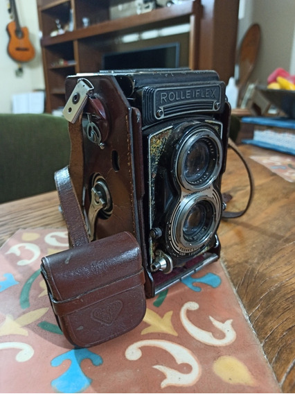 Câmera Rolleiflex Carl Zeiss 75mm 3,5