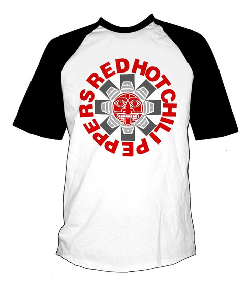 Remera Combinada Red Hot Chili Peppers Mayan