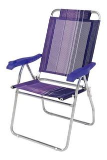 Cadeira Reclinável Boreal Alumínio 002131