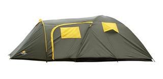 Barraca Iglu P/ Acampamento Camping Zeus 5 Pessoas Guepardo C/ Mosquiteiro 1500mm Coluna D