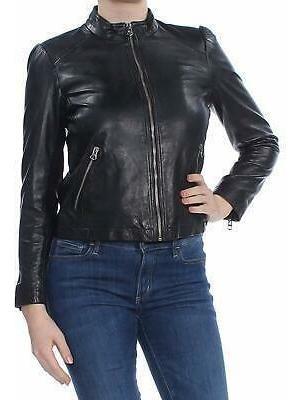 Lucky Marca Chaqueta De Mujer Abrigo Negro Tamaño Peque-0401