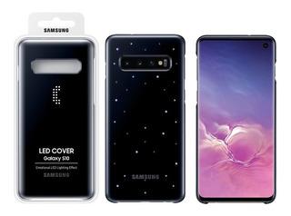 Funda Original Samsung Led Back Luz Icono S10 S10 Plus S10 E
