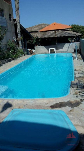 Chácara Com 3 Dormitórios À Venda, 1780 M² Por R$ 430.000,00 - Tupi - Piracicaba/sp - Ch0131
