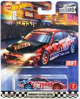 Nissan Silvia S15 2020 Boulevard Premium Hot Wheels 1/64