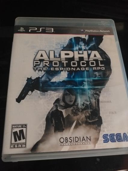 Alpha Protocol Ps3 Midia Física
