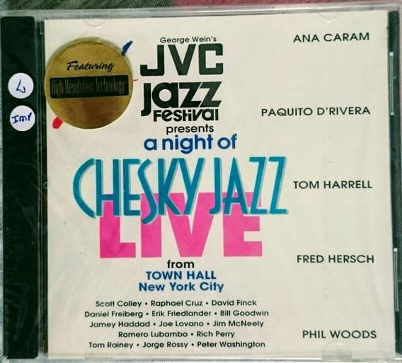 Cd - Jazz Festival - Ana Caran, Paquito Rivera Tom H. Phil