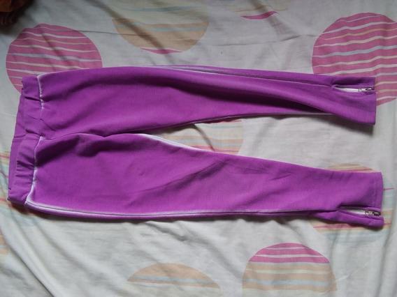 Legguins Pantalon Mono Morado Niña Talla 8