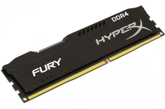 Memoria Ddr4 4gb 2400mhz Kingston Hyperx Fury Black Usado