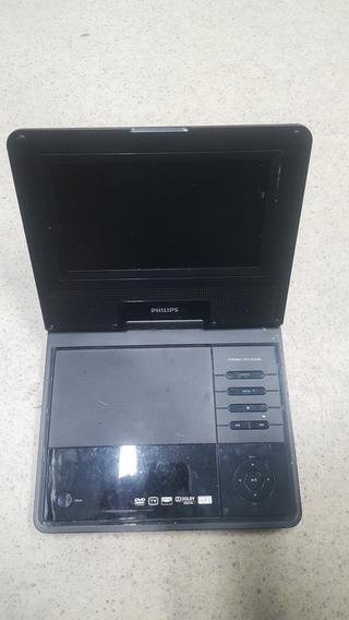 Dvd Portatil Philips Pd7007/55 (no Estado)