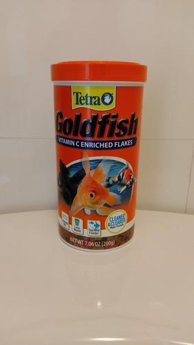 Imagen 1 de 3 de Hojuelas Para Goldfish