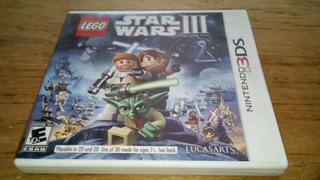 Lego Star Wars 3 The Clone Wars Nintendo 3ds