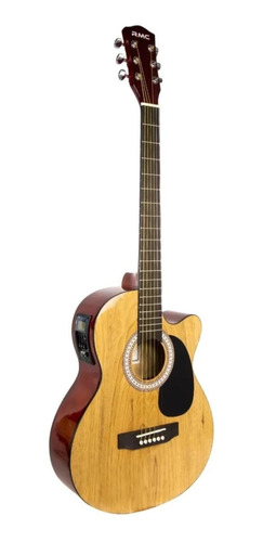 Imagen 1 de 3 de Guitarra electroacústica RMC Montana natural