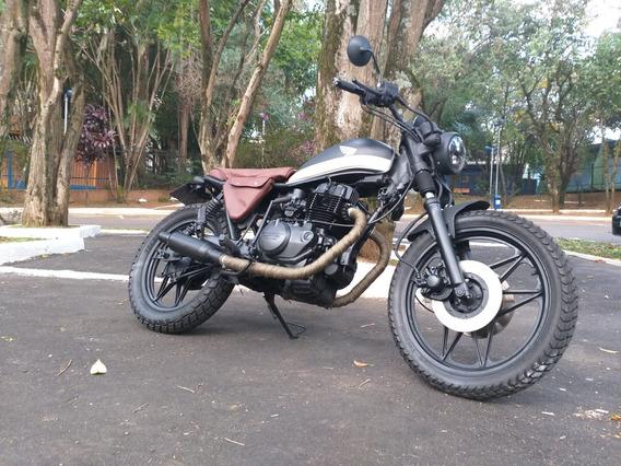 Cafe Racer, Scrambler, Brat Style, Yamaha,street, Cbx 250