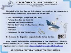 Reparacion De Silla Odontologica Y Compresor De Aire