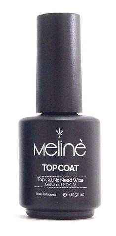 Esmalte Meliné Top Coat Manicuria Semipermanente Gel On-off