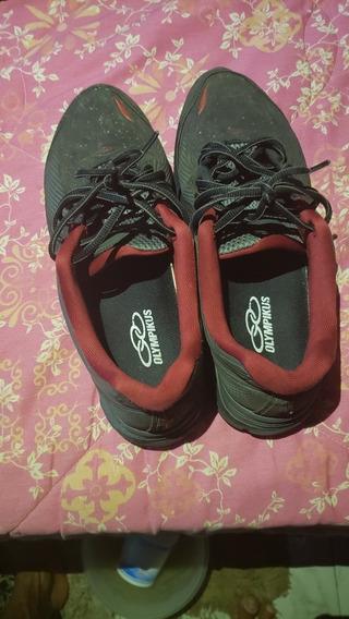 Sapatos Olimpykus Para Corrida Na Cor Preto